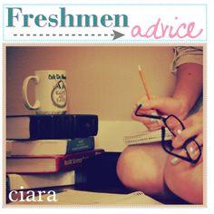 """• FRESHMEN ADViCE ♥ CiARA •"" by aloha-tip-girls on Polyvore"