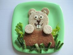 Groundhog Day Lunch creativefunfood.com