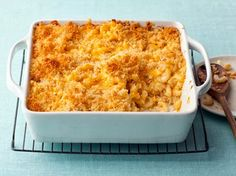 alton brown, mac cheese, macaroni and cheese, fun recip, food network recipes, comfort foods, bake mac, cheese recipes, kid