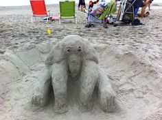 Lucy the Elephant - 3rd Place in the 13 & Older Category sculpted by Rory & Lauren
