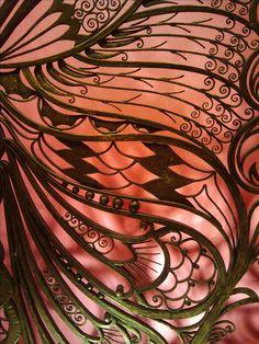 Art Nouveau wrought iron