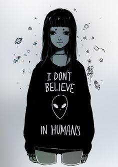 Eu n??o acredito em humanos