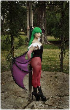 Morrigan Aensland cosplay by VictoriaRusso.deviantart.com