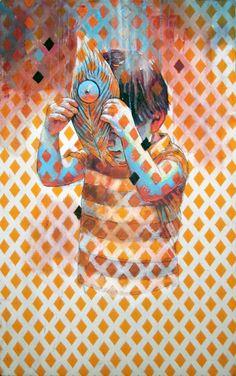 Cristian Blanxer - Third eye christians, artists, cristian blanxer, third eye, galleri, art prints, eye art, illustr, eyes