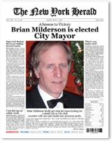 you can create your own front page of a newspaper at this site i want