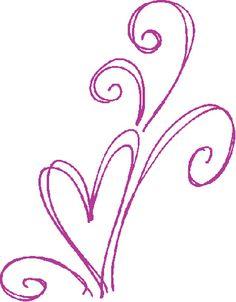 Heart Flourish Sketch