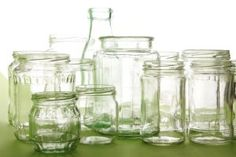 Reusing Jars and Containers | Stretcher.com - Why buy containers that duplicate what you're throwing away?