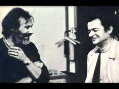 """Georges Moustaki. """"La mer m'a donné""""."""
