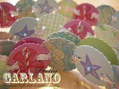 DIY::Pretty Vintage Garland Tutorial