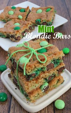 Mint Blondie Bars