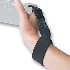 OP/TECH USA 6701062 SLR Wrist Strap, Neoprene Camera Wrist Strap (Black)
