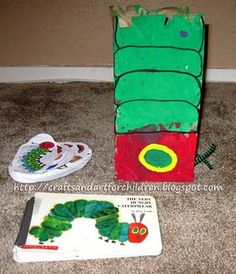 (6)  ACTIVITY: Feed the Caterpillar activity and craft!  #WorldEricCarle #HungryCaterpillar