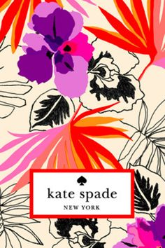 love kate spade's colors and prints!