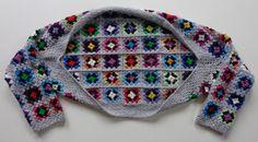 Crochet Granny Square Bolero - Tutorial