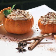 Tiramisu in Mini Pumpkins- such a great idea!