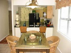 Dining Room and Kitchen, in A113, Inverness at New Braunfels