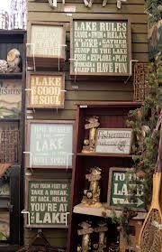 Lake house decor.