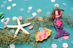 Love the details of this Mermaid Birthday Party on the blog today! http://3d-memoirs.com