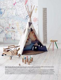 ELLE DECO UK - Inspirations Chambre d'enfants