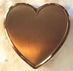 Superb Heart Shaped Compact, on Etsy at RetroRosiesVintage