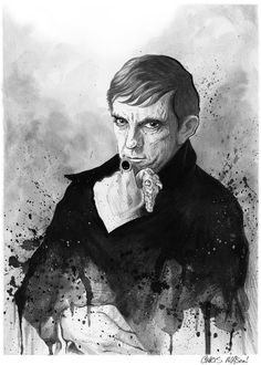 Barnabas Collins fan art DARK SHADOWS