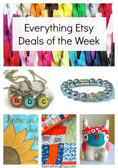 Everything Etsy Deals of the Week -- 9/6/2014 - EverythingEtsy.com