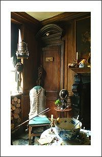 Dennis Severs' House - smoking room by Dennis Severs' House, via Flickr