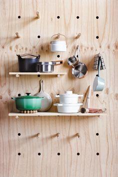 storage solutions, idea, woodworking projects, kitchen storage, wall storage, peg boards, design blogs, shelv, kitchen walls