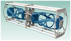 Turbine Generator Unit by Ocean Renewable Power Company (ORPC) - ORPC power systems generate clean, renewable electricity by harnessing the energy of the world's rivers and oceans.
