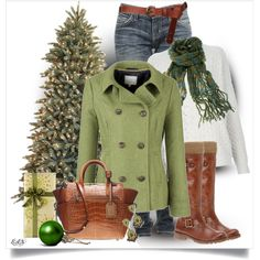 Evergreen... So cute for the holidays!