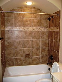Custom tub surround by Grand Installations LLC, via Flickr