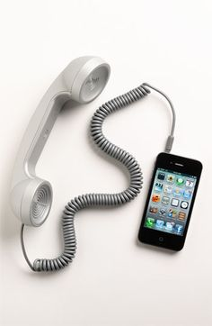 sometimes it would be nice to have a handset!!