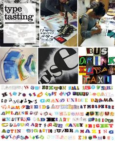Type Tasting • With Relish Graphic Design