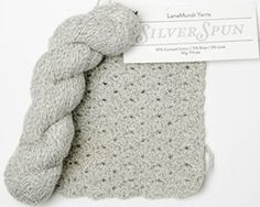 SilverSpun by LanaMundi Yarns / Feel Good Yarn Company - A yarn review from Love of Crochet magazine - You can still use touch screens while wearing gloves or mittens crocheted with this yarn!