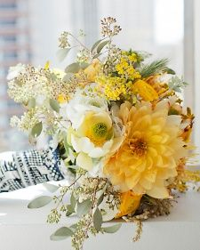 Browse yellow bouquet options in various styles and blooms.