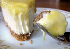 Glazed lemon cheesecake recipe