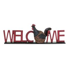 I pinned this Hen Welcome Sign from the Carbon, Crimson & Cream event at Joss and Main!
