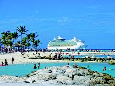 Cococay, Bahamas- Royal Caribbean's private Island...I'll be relaxing here drinking coco locos Jan 14, 2013!