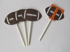 Football TIME.. Tailgate party/birthday party/sports banquet on Etsy, $5.50