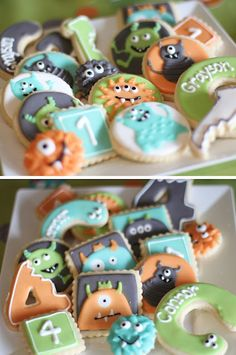 Monster Party Final Results! Monster Cookies.