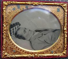 Victorian Post Mortem Photograph