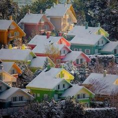 Norway, like a tiny Christmas village