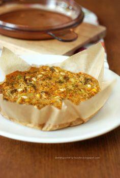 Moje Dietetyczne Fanaberie: Frittata z serkiem wiejskim, brokułami i kalafiorem