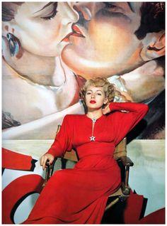 Lana Turner. I think that says it all. Well, also, I wish I had that amazing dress. #lanaturner #oldhollywood