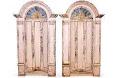 18th-C. French Alcoves, Pair on OneKingsLane.com