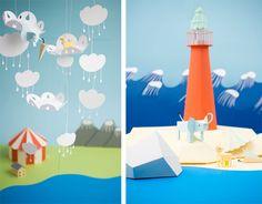 More amazing paper craft by Fideli Sundqvist.