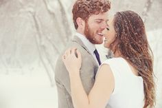 A moment alone in the snow {AlliChelle Photography}