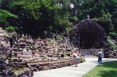 Ava Maria Grotto Cullman, AL, and The Grotto of Redemption West Bend, IA