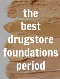 best drugstore foundations