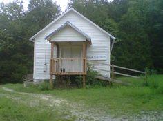 Possum Trot Church near Alpena, Arkansas.